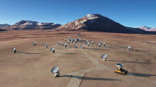 ALMA-telescoop in Chili