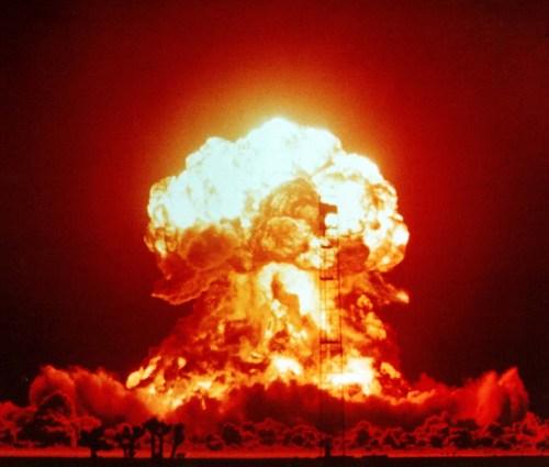 Nucleaire explosie.