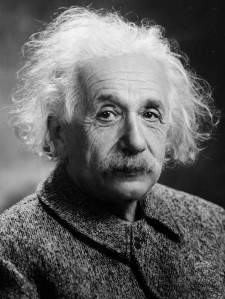 Albert Einstein. (Orren Jack Turner via Public domain)