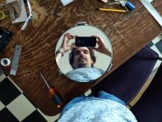 Spiegelende spiegel