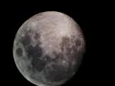 Bijna volle maan op 26 juni 2018.